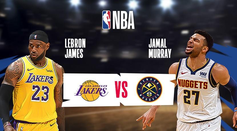 Streaming NBA 2019-20 LA Lakers vs Denver Nuggets - Vidio.com