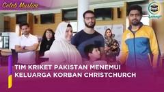 Tim Kriket Pakistan Temui Keluarga Korban Penyerangan Masjid Christchurch