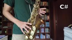 Belajar Saxophone Itu Mudah! (D Major Scale | Eb Alto & Bb Tenor)