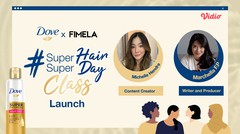 Dove Super Hair Super Day Class Launch