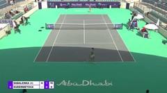 Match Highlights   Aryna Sabalenka 2 vs 0 Veronika Kudermetova   WTA Abu Dhabi Open 2021