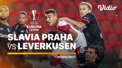 Highlight -  Slavia Praha vs Leverkusen I UEFA Europa League 2020/2021