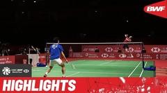 Match Highlight | Viktor Axelsen (Denmark) 2 vs 0 Chou Tien Chen (Chinese Taipei) | BWF World Tour Finals 2021