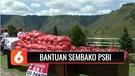 PSBI Salurkan Bantuan 750 Alat Kesehatan dan 3.500 Paket Sembako untuk Warga Samosir | Liputan 6