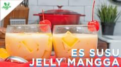 Resep Es Susu Jelly Mangga