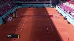 Match Highlights | John Isner 2 vs 1 Andrey Rublev | Mutua Madrid Open 2021
