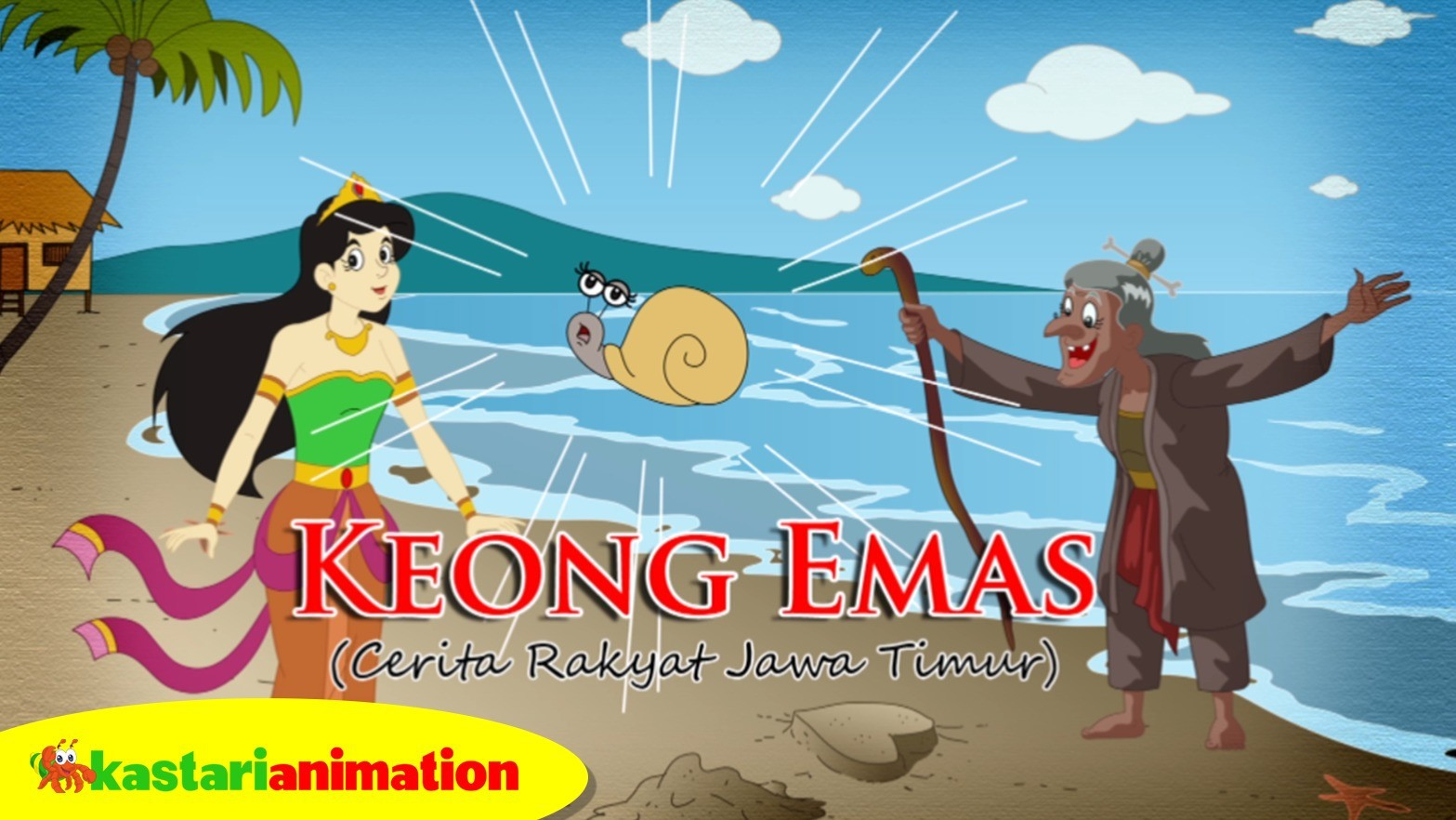 Keong Emas | Cerita Rakyat Indonesia | Kastari Animation - Vidio.com