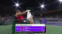 Match Highlights | Paula Badosa 2 vs 1 Ons Jabeur | BNP Paribas Open 2021