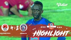 Arema FC vs Kalteng Putra FC Full Highlight | Shopee Liga 1