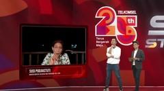Susi Pudjiastuti, Pandji Pragiwaksono & Adjis DoaIbu - TerusBlakBlakan Talkshow | Telkomsel Silver Stream Fest 2020