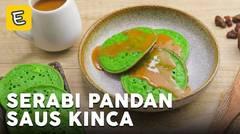 Resep Serabi Pandan Saus Kinca