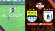 Persib Bandung (3) vs (0) Persipura Jayapura - Full Highlight | Shopee Liga 1