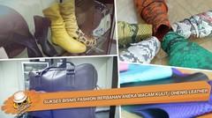 Sukses Bisnis Fashion Berbahan Aneka Macam Kulit | DHENIG LEATHER