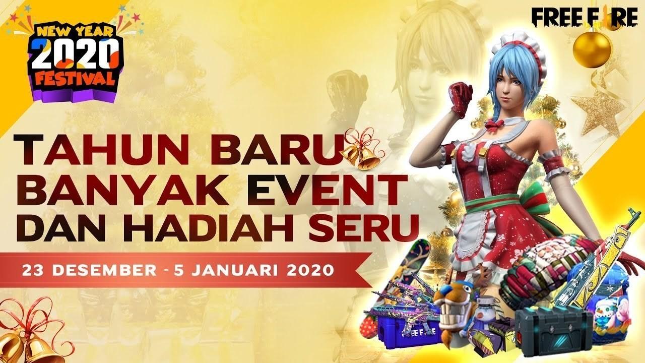 Streaming Free Fire Bagi Bagi Hadiah Keren Di New Year Festival Vidio Com