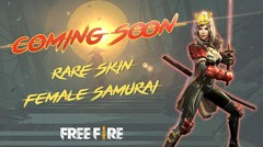 Samurai Skin - Coming Soon!