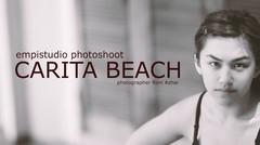 Beauty photoshoot at Carita Beach
