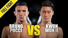 Bruno Pucci vs. Kwon Won Il   ONE Championship Full Fight
