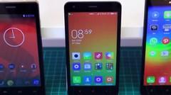 Lenovo A6000 vs Xiaomi Redmi 2 vs Polytron ZAP 5 - Review Indonesia