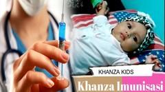 Wow Khanza Di Suntik | Ayo Imunisasi Agar Buah Hati Sehat Semua perubahan telah disimpan.