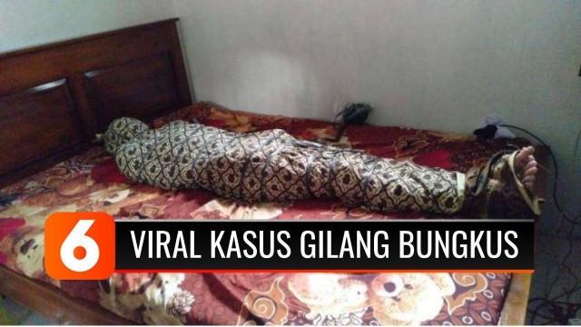 Streaming Viral Gilang Bungkus Kain Jarik, Polda Jatim