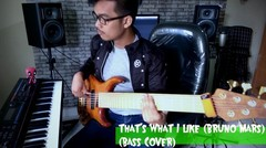 That's What I Like (Bass Cover) // Original From Bruno mars