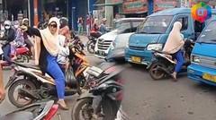 UDAH SALAH MALAH NYOLOT- AKSI PENGENDARA MELAWAN ARUS DI JALAN RAYA