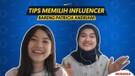 TIPS MEMILIH INFLUENCER BARENG PATRICIA ANDRIANI