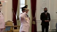 Presiden Jokowi lantik gubernur-wakil gubernur Sulut dan Kaltara