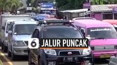Lalu Lintas Padat, Polisi Tutup Jalur Puncak Cianjur