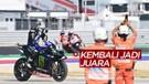 Maverick Vinales Juara di MotoGP Emilia Romagna, Valentino Rossi dan Fabio Quartararo Gagal Raih Podium