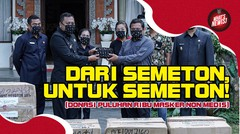 Bali United Serahkan Bantuan Puluhan Ribu Masker Non Medis | What's News (Chapter 528)