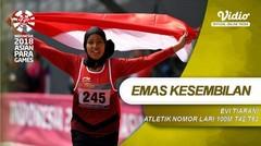 Sprinter Muda Karisma Evi Tambah Pundi Emas untuk Indonesia