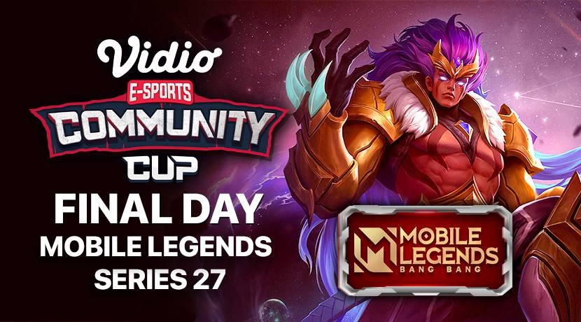 Vidio Community Cup Season 14 cover