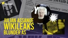 Julian Assange & Blunder AS, dalam 3 Menit