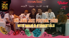 Exclusive Interview With Maliq & D'Essentials - Java Jazz Festival 2020