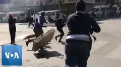 Police Fire Rubber Bullets Amidst Riots in South Africa