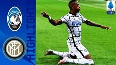 Match Highlight | Atalanta 0 vs 2 Inter Milan | Serie A 2020