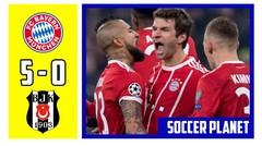 Bayern Munchen v Besiktas 5-0, UCL 2017 2018 Babak 16 Besar Leg 1