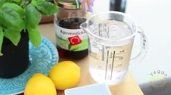 Sugar-Free Basil Lemonade Easy & Quick Summer Drink