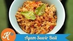 Resep Ayam Suwir Bali (Balinese Shredded Chicken Recipe Video) | MELATI PUTRI