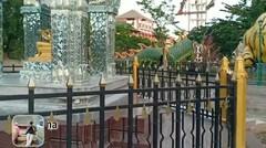 Penampakan Patung Buddha 4 Wajah di Kelenteng Kwan Sing Bio Tuban