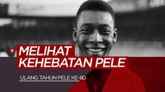 Melihat Perjalanan Pele, Legenda yang Raih Tiga Gelar Piala Dunia