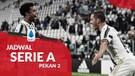 Jadwal Liga Italia Pekan 2, Juventus Tantang AS Roma