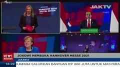 Jokowi Membuka Hannover Messe 2021