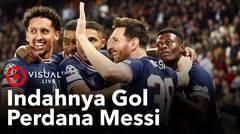 Indahnya Gol Perdana Lionel Messi