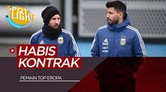 Lionel Messi, Sergio Aguero dan 3 Pemain Top yang Habis Kontrak Tahun Depan