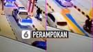 Viral Rekaman Perampokan Truk di Tol Riau