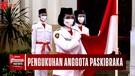 Jelang Hari Kemerdekaan RI, Jokowi Lantik Anggota Paskibraka sesuai Protokol Covid-19