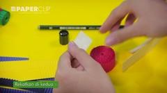 DIY Hiasan Pensil Lucu