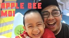 Wadaw! Sampai Jatuh di Apple Bee MOI Seru Banget!